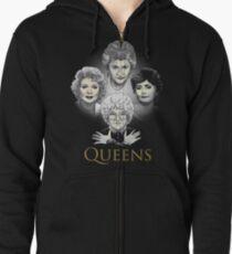 Golden Queens Zipped Hoodie