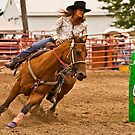 Barrel Racer by Sue Ratcliffe