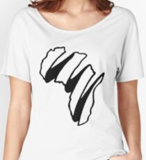 Simple Africa Design Women's Relaxed Fit T-Shirt