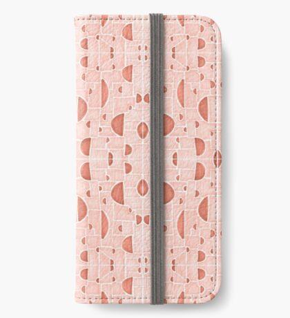 Kaleidoscopic Cretto #redbubble #pattern iPhone Wallet