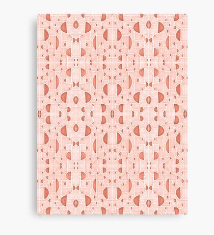 Kaleidoscopic Cretto #redbubble #pattern Canvas Print