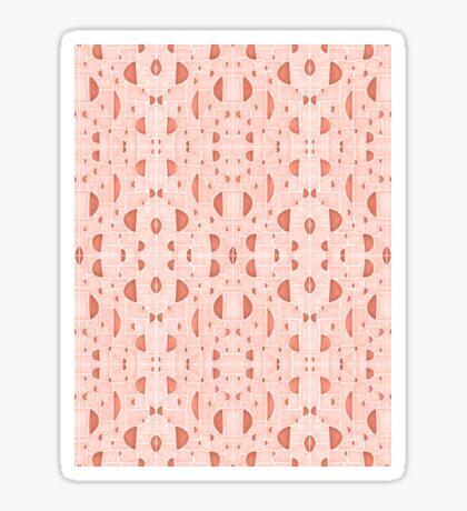 Kaleidoscopic Cretto #redbubble #pattern Glossy Sticker