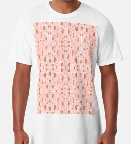 Kaleidoscopic Cretto #redbubble #pattern Long T-Shirt