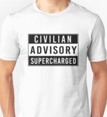 Advisory - supercharged Unisex T-Shirt