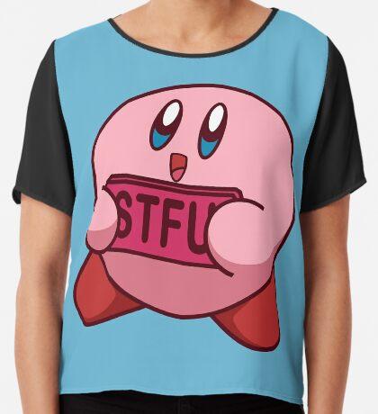 STFU Kirby Chiffon Top