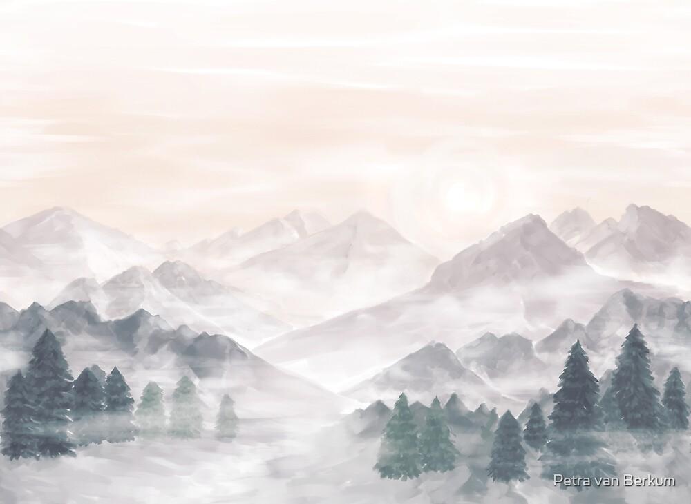 Misty Mountains by Petra van Berkum