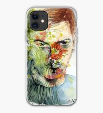 The Green Man Emerges iPhone Case