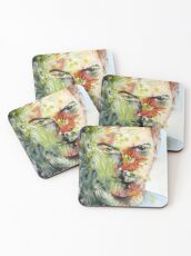 The Green Man Emerges Coasters