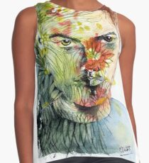 The Green Man Emerges Sleeveless Top
