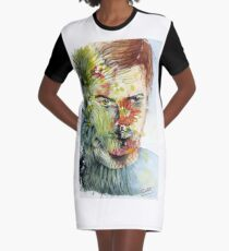 The Green Man Emerges Graphic T-Shirt Dress