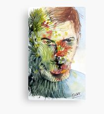 The Green Man Emerges Metal Print
