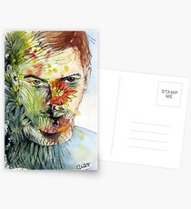 The Green Man Emerges Postcards