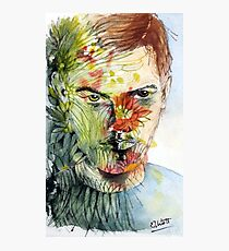 The Green Man Emerges Photographic Print