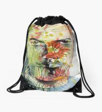 The Green Man Emerges Drawstring Bag