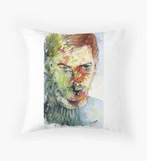 The Green Man Emerges Floor Pillow