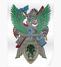 Dark Angels Deathwing Poster