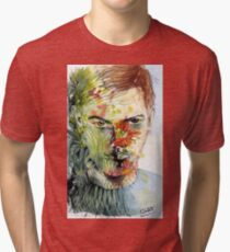The Green Man Emerges Tri-blend T-Shirt