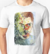 The Green Man Emerges Slim Fit T-Shirt