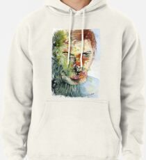 The Green Man Emerges Pullover Hoodie