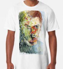 The Green Man Emerges Long T-Shirt