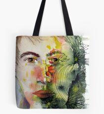 The Green Man Recedes Tote Bag