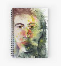 The Green Man Recedes Spiral Notebook