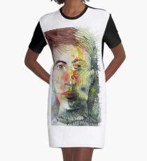 The Green Man Recedes Graphic T-Shirt Dress