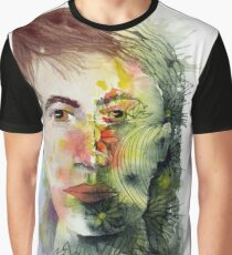 The Green Man Recedes Graphic T-Shirt
