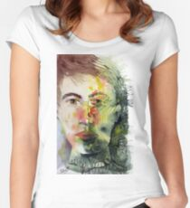 The Green Man Recedes Fitted Scoop T-Shirt