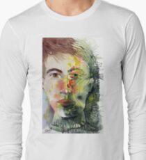 The Green Man Recedes Long Sleeve T-Shirt