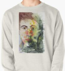 The Green Man Recedes Pullover Sweatshirt