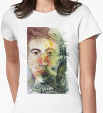 The Green Man Recedes Fitted T-Shirt