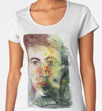 The Green Man Recedes Premium Scoop T-Shirt