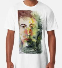 The Green Man Recedes Long T-Shirt