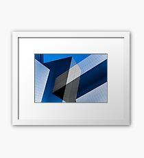 Z for Zaha Framed Print