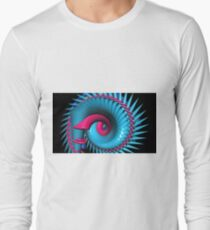 Aqua Magenta Eye Long Sleeve T-Shirt