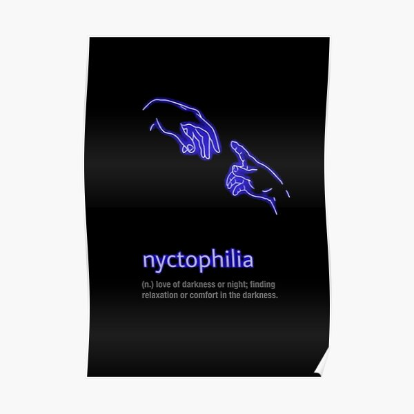 Nyctophilia Posters Redbubble