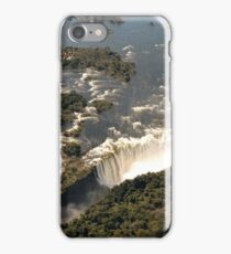 Magnificent Victoria Falls from the Air iPhone Case/Skin