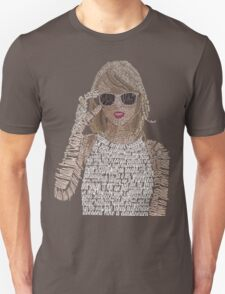 Taylor Swift Typography Unisex T-Shirt
