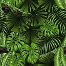 Jungle leaves by Katerina Kirilova