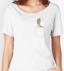 Pocket Yee Women's Relaxed Fit T-Shirt