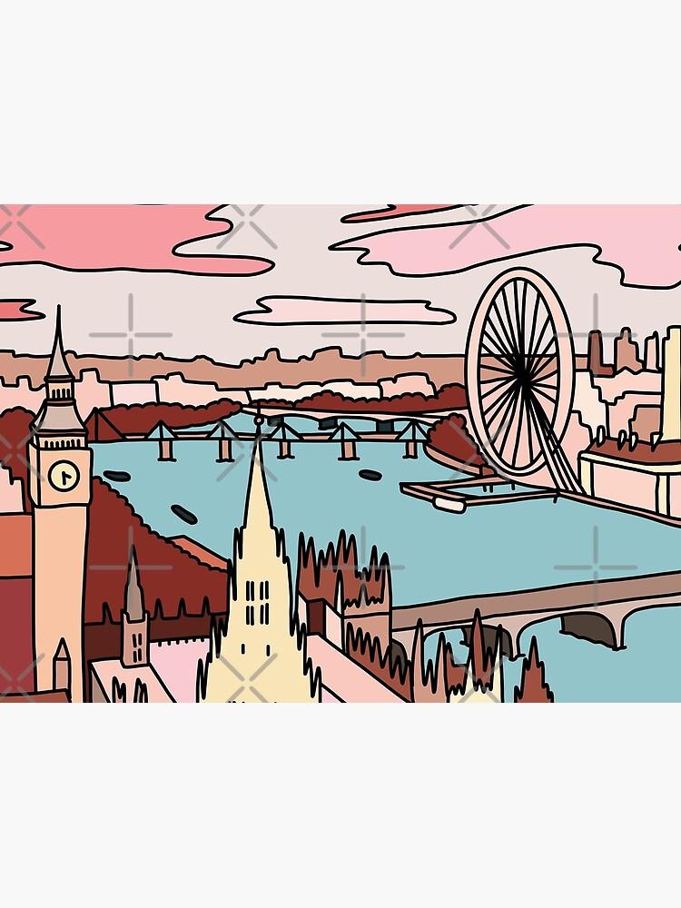 London skyline by Sasa Elebea by elebea