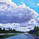 'Floating Island' (Cloud formation, 77N outside of Charlotte) by Jerry Kirk