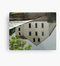 Slater Mill Metal Print
