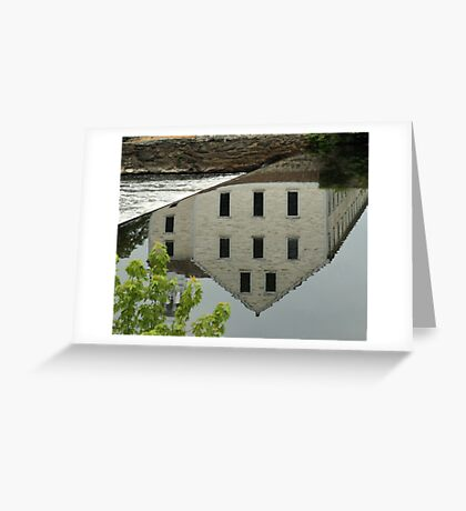 Slater Mill Greeting Card