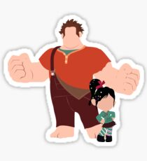 The Dynamic Duo Sticker