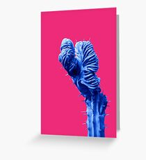 Funky Cactus Greeting Card