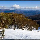 Mount Buller view by Andrew Wilson
