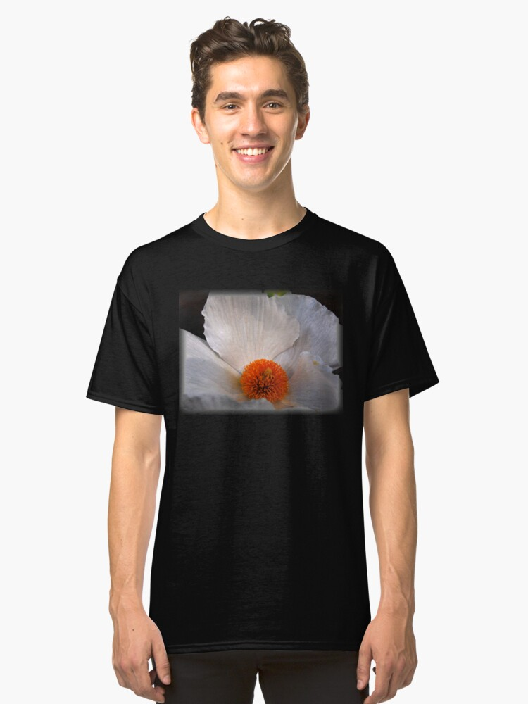 Alternate view of Matilija Poppy Classic T-Shirt