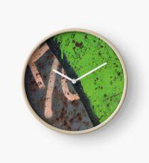 Rustin' piece Clock